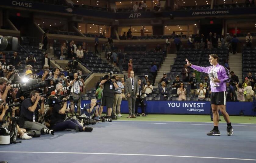 Numerosos elogios a Nadal por su triunfo en el US Open del mundo del deporte