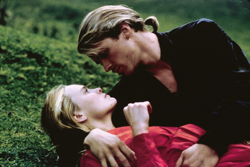 """Robin Wright and Cary Elwes in """"The Princess Bride"""""""