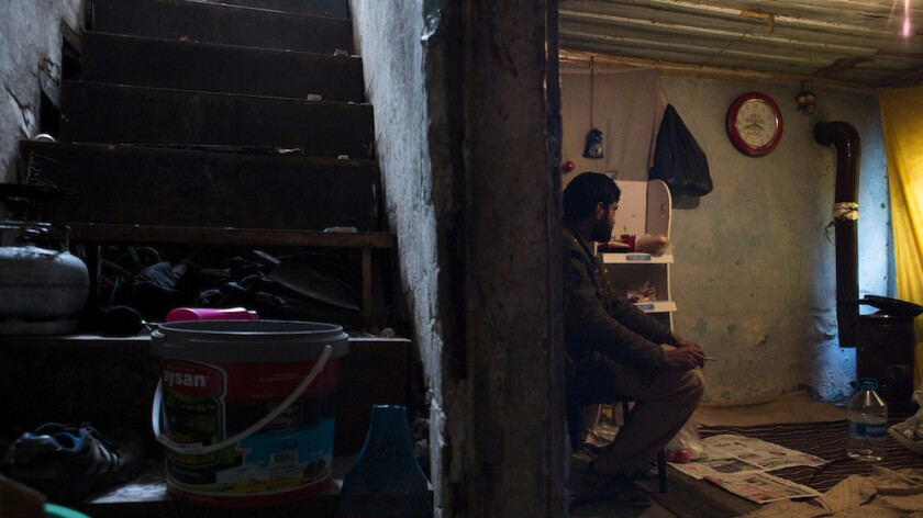 An Afghan living in Istanbul's Vefa neighborhood.