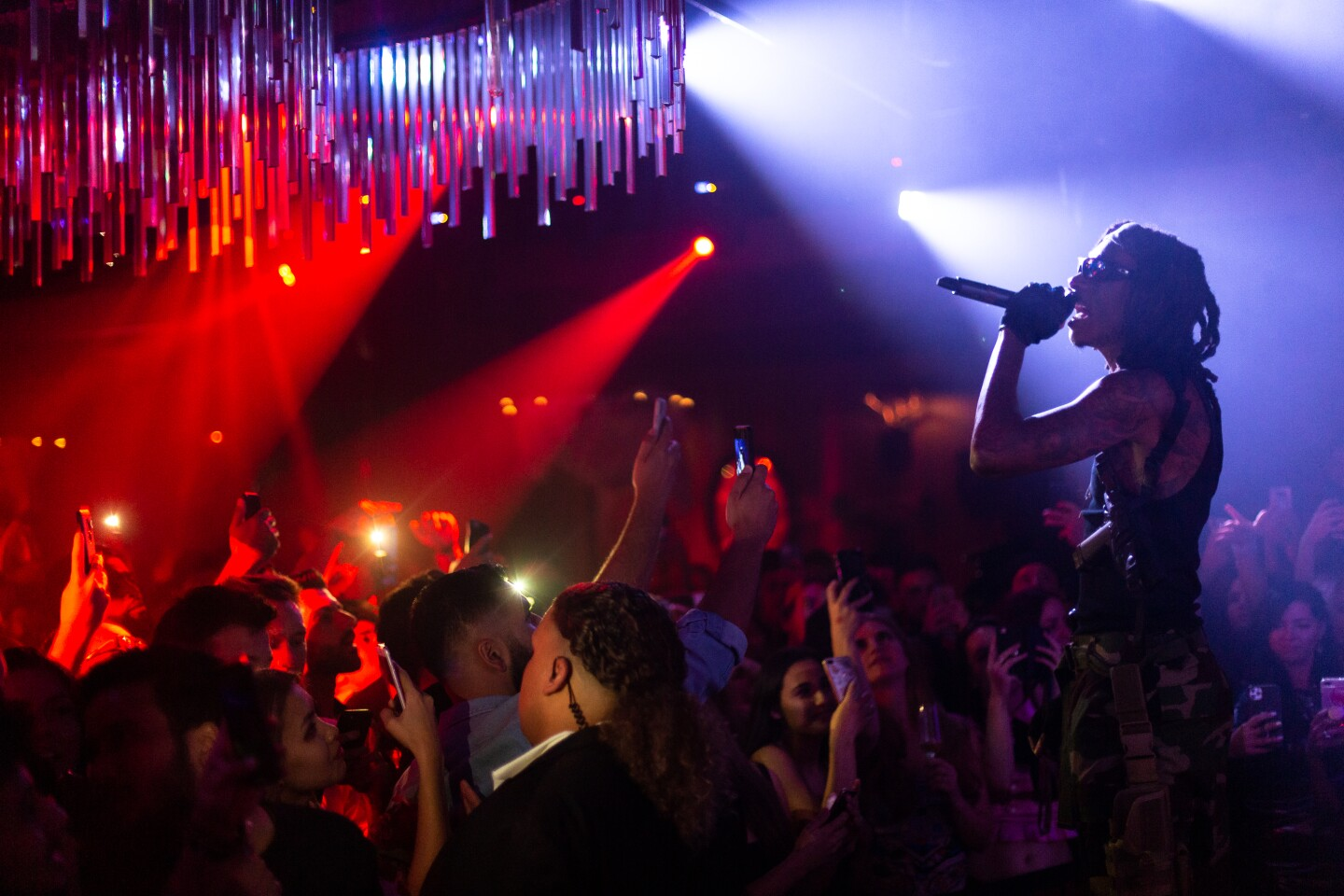Oxford Social Club in the Gaslamp welcomed Wiz Khalifa to its Oxford Horror Story party on Friday, Oct. 25, 2019.