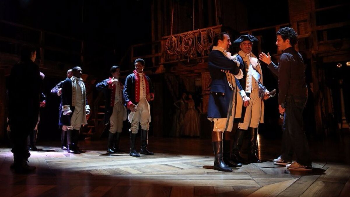 The birth of 'Hamilton,' told by the man who was in the room where ...