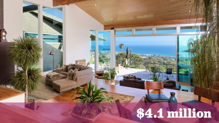 Musician and composer Mark Morgan of Starship fame has sold his home above Malibu's Zuma Beach for $4.1 million.