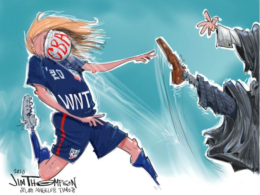 U.S. women's soccer and the fight for fair pay.