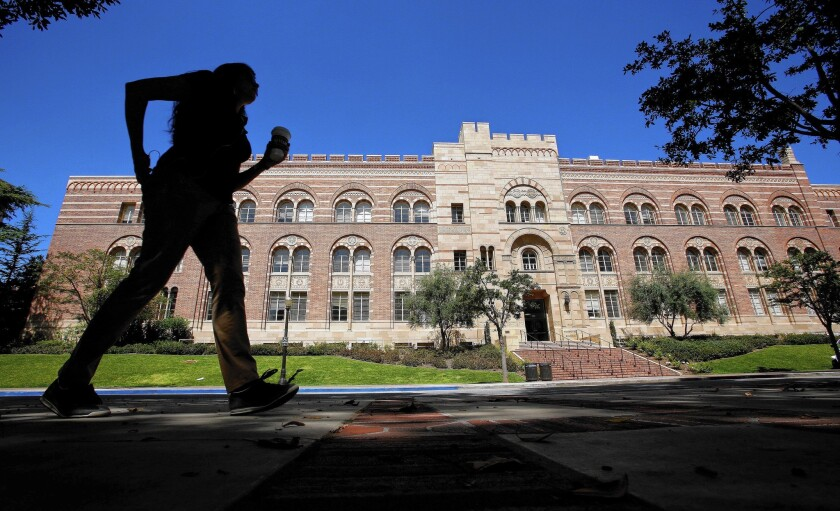The UCLA campus in Westwood.