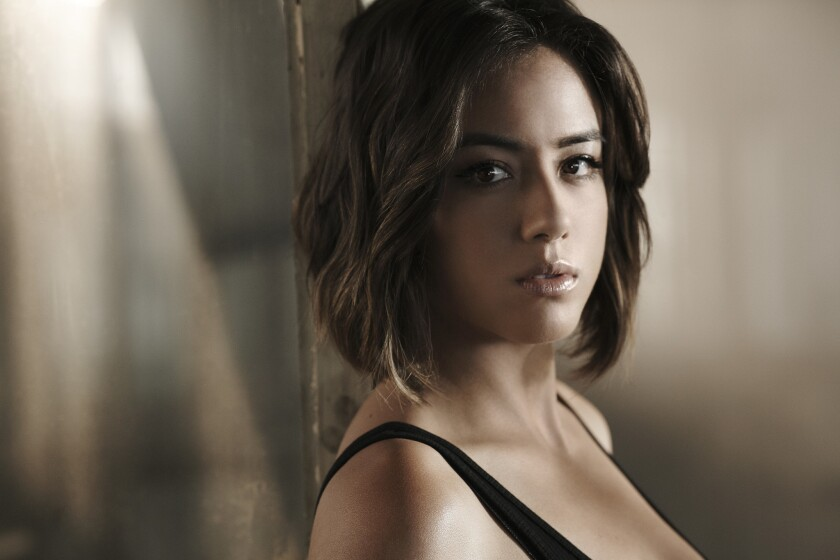 """Marvel's Agents of S.H.I.E.L.D."" stars Chloe Bennet as Agent Daisy Johnson."