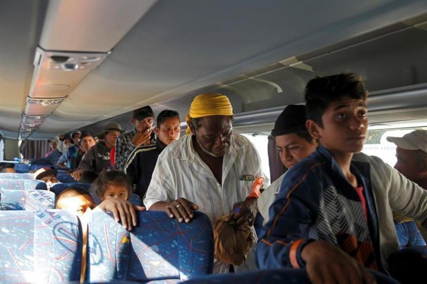 Las autoridades mexicanas están detrás del 25 % de los crímenes que se cometen contra los migrantes que atraviesan el país, quienes además enfrentan dificultades en el acceso a la justicia y la integración en sus lugares de destino, según un informe publicado hoy. EFE/ARCHIVO