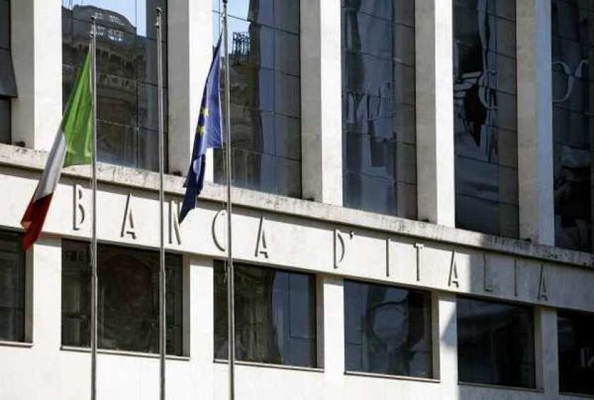 Banca d'Italia, Italy's central bank located in Rome, is seen in May. Unemployment has topped 10% in Italy and news broadcasts have given lavish coverage to a wave of suicides by small businessmen who couldn¿t meet payrolls or tax bills.