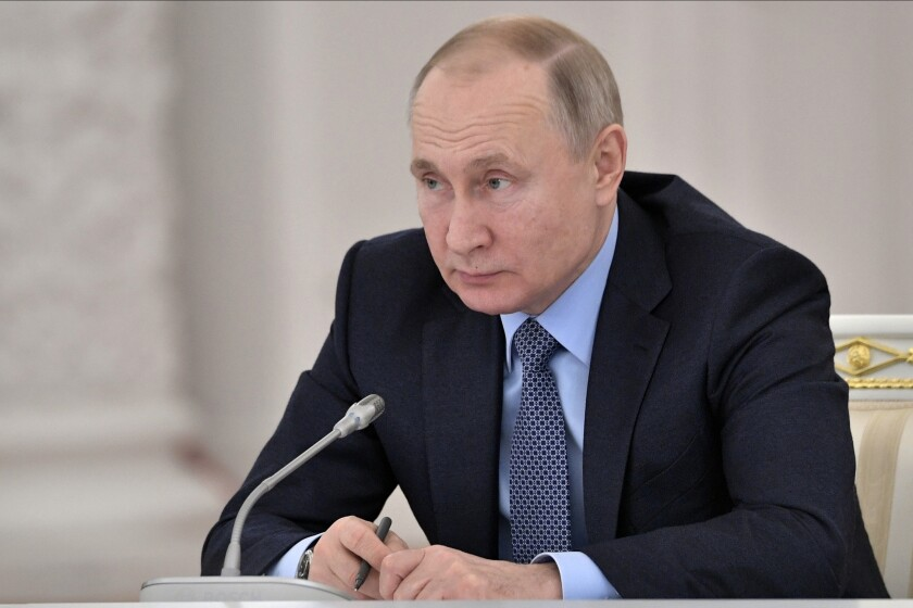 Russian President Vladimir Putin said this week that Russia is now leading the world in developing a new class of weapons.
