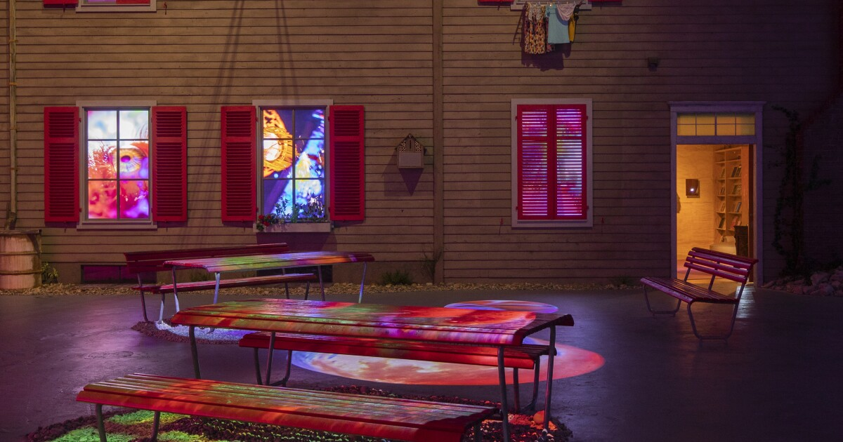 Review: Forget about 'immersive' Van Gogh. Pipilotti Rist's MOCA show is the real thing