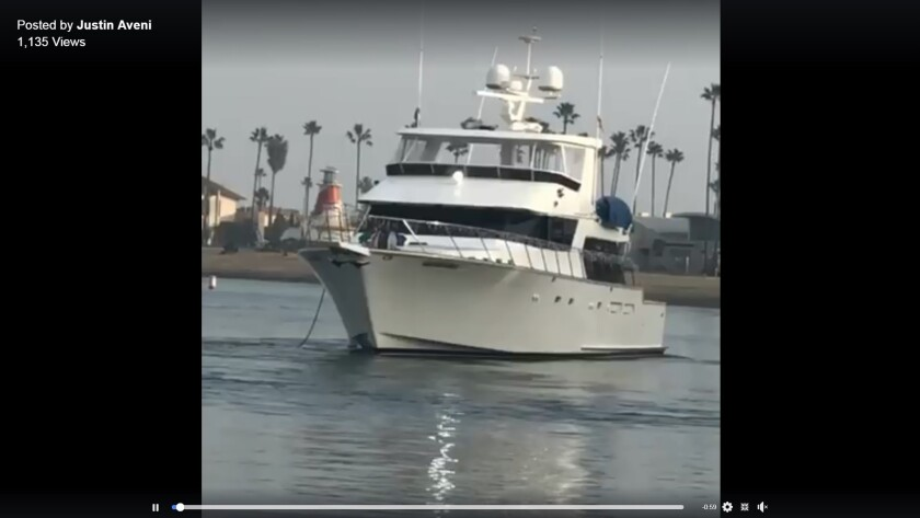 Costa Mesa man pleads not guilty to stealing 70-foot yacht