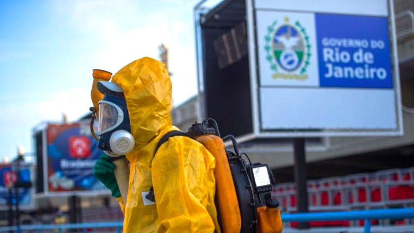 Las autoridades locales luchan contra la propagación del Zika...