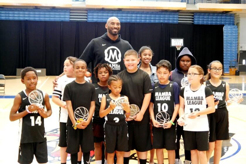 Kobe Bryant en Mamba League