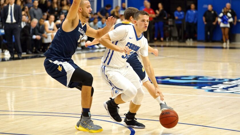 Dalton Soffer, Cal State University San Marcos men's basketball