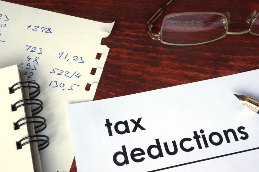 Starting this year, many sole proprietors will be allowed to deduct up to 20 percent of their qualified business income.