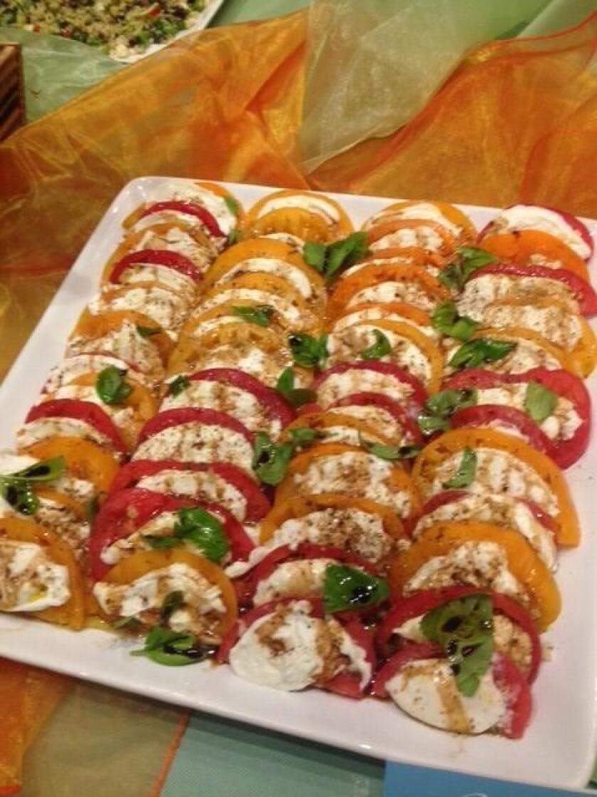 Easy Caprese Salad