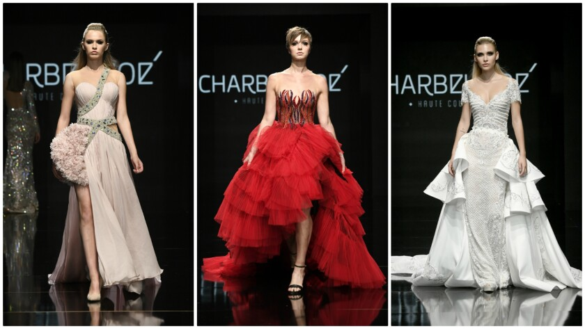 Charbal Zoe opens Art Hearts Fashion Week in downtown Los Angeles on October 17, 2019