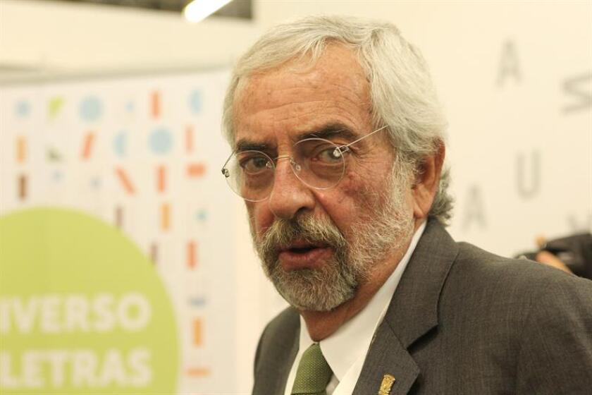 El rector de la Universidad Autónoma de México Enrique Luis Graue Wiechers habla en una entrevista. EFE/Archivo