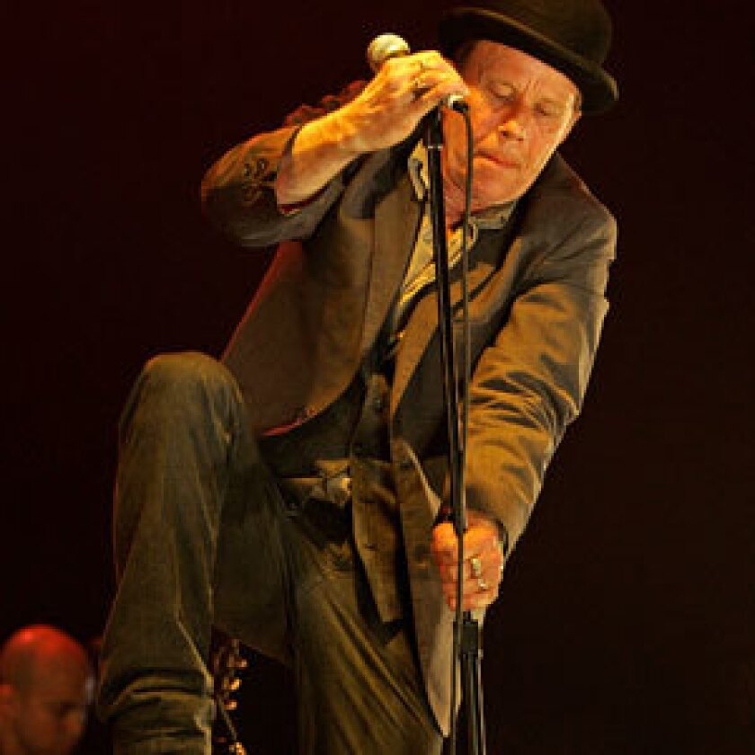 DELIGHTFULLY STRANGE: Waits can refigure old or even obsolete musical forms in his own hyper-dramatic style until they dazzle in new ways.
