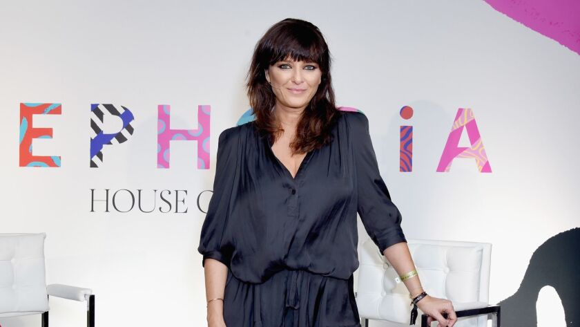Natasha Denona attends Sephoria: House of Beauty Session One at the Majestic Downtown on Oct. 20 in Los Angeles.