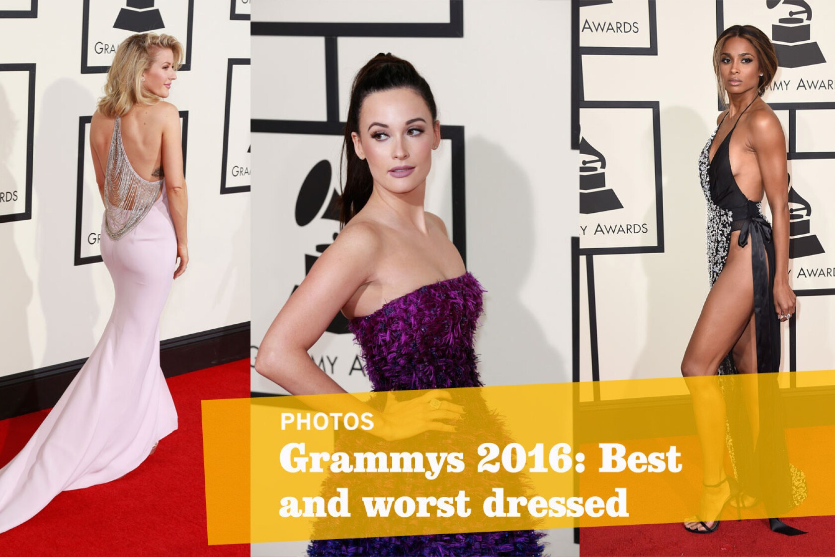 Grammys fashion trends: Strategic skin-baring, high-slits and taking black to the next level