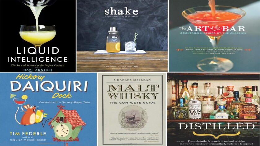 Six cocktail books to add to your collection.