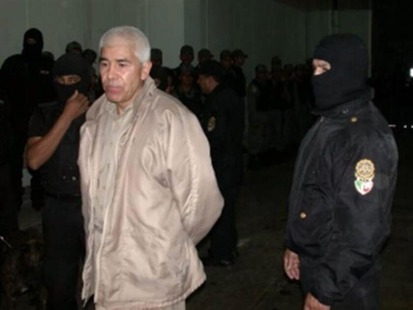 Imagen de archivo del fugitivo narcotraficante Rafael Caro Quintero. EFE/Policía Federal/SOLO USO EDITORIAL