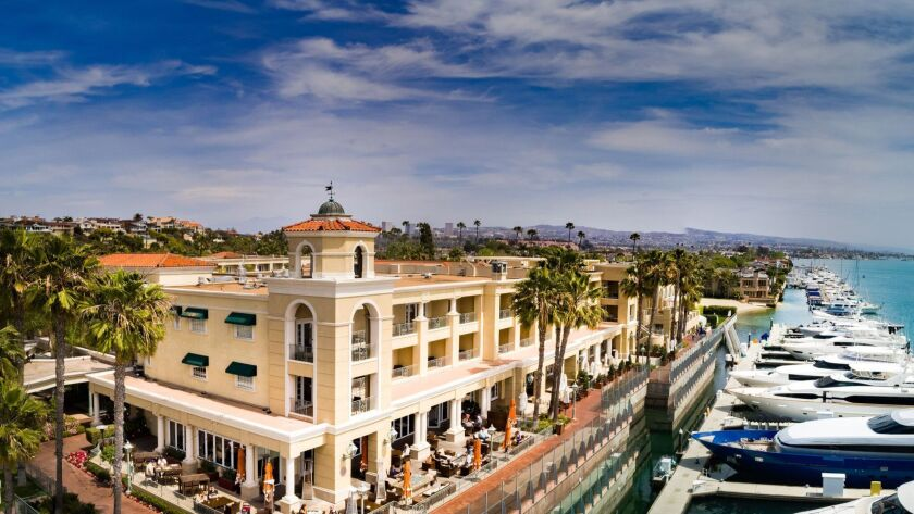 The Balboa Bay Resort and its Marina