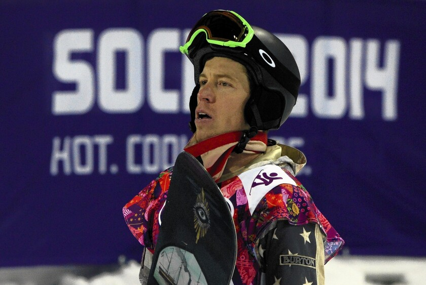 Shaun White didn't win an expected medal in the men's halfpipe.