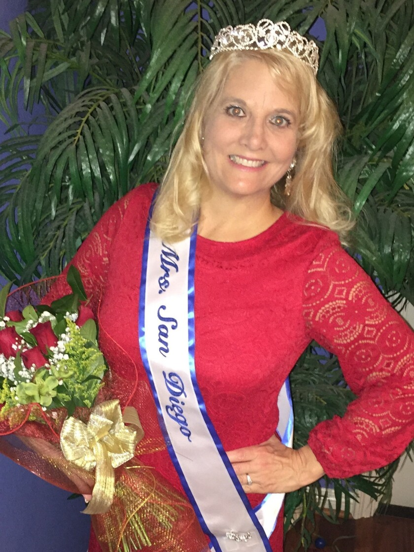 Carolyn Kirner-Schmidt, Mrs. San Diego 2016, will be at the Dec. 18 benefit for Conner's Cause.