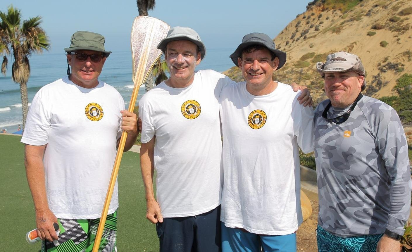 Brian Ganz, Bruce Gresham, Andy Moulds, Brett Butler