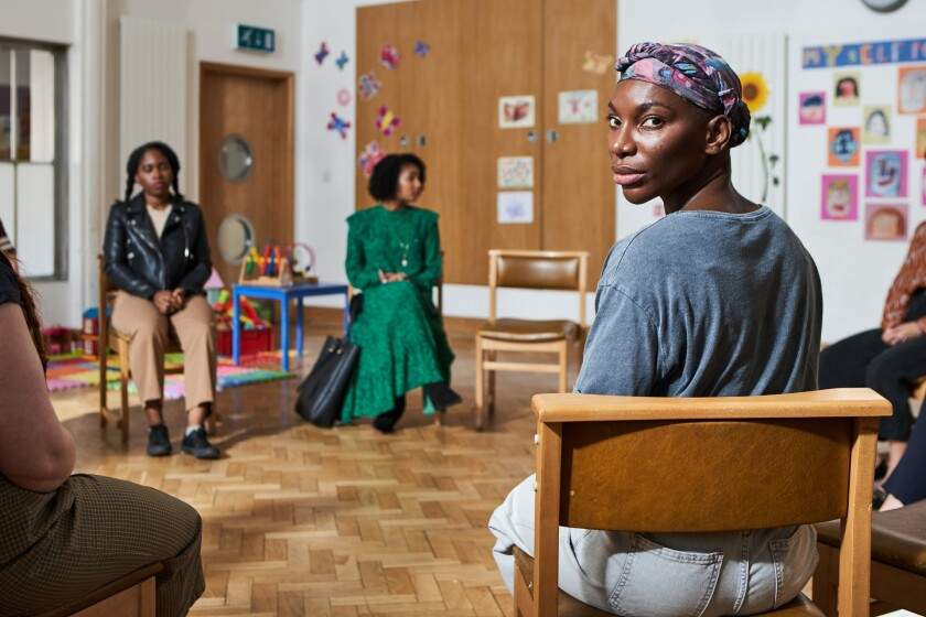 """Michaela Coel, foreground, in """"I May Destroy You."""""""