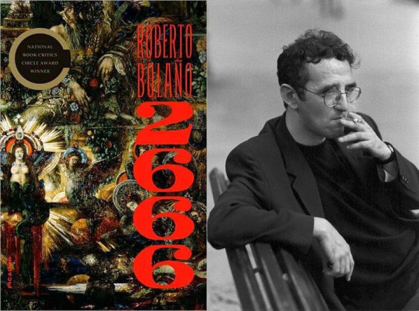 """Roberto Bolano's novel """"2666"""" debuted as an e-book Tuesday."""