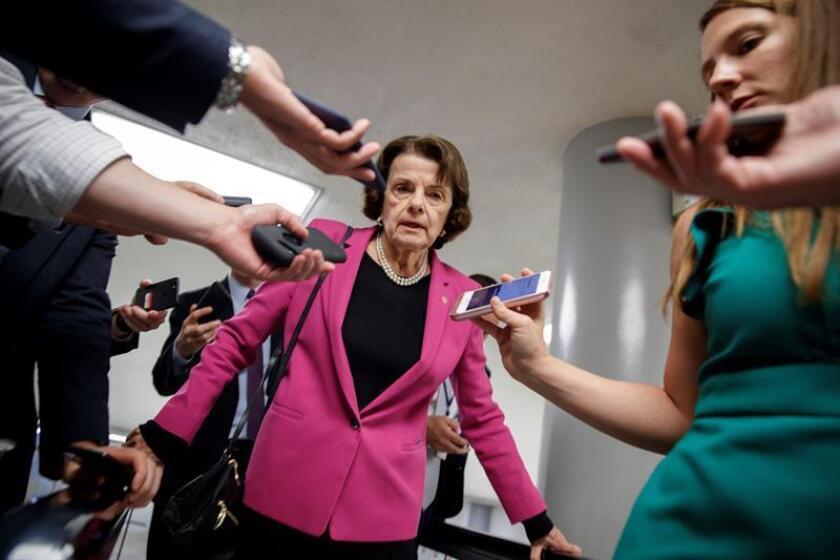 Senator Dianne Feinstein (C). EFE/EPA/FILE