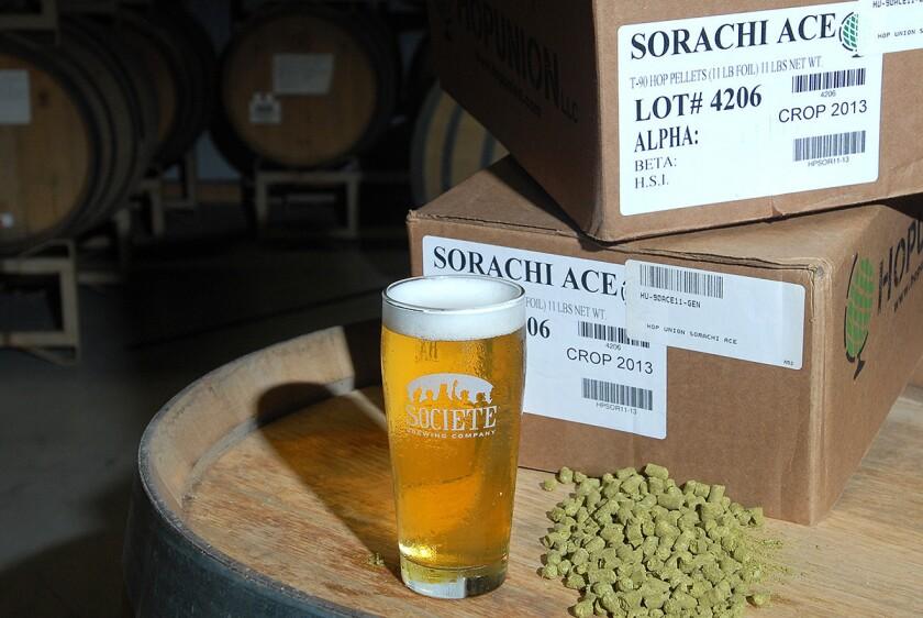Societe Brewing Company.
