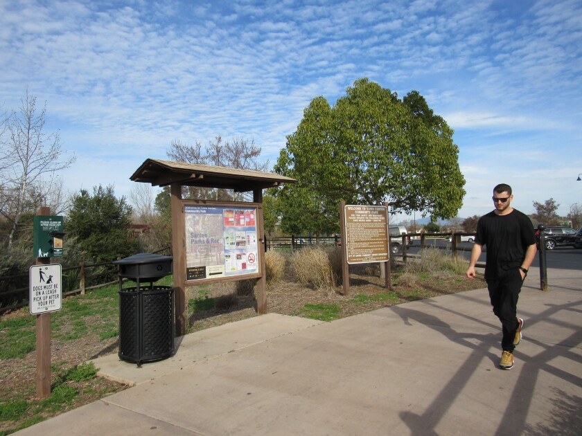 The Santee City Council said it will ban smoking in city parks except for city-sponsored special events where city staff will be allowed to decide whether to provide a designated smoking section in a park.