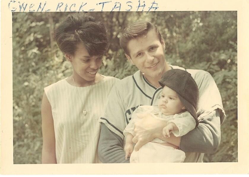 Rick, Gwendolyn and Natasha Trethewey, in Gulfport, Miss.