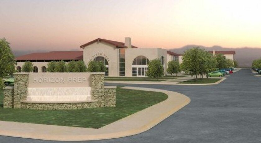 Horizon Prep welcomes high school students this fall. Construction is underway on the second phase of campus construction. Courtesy rendering