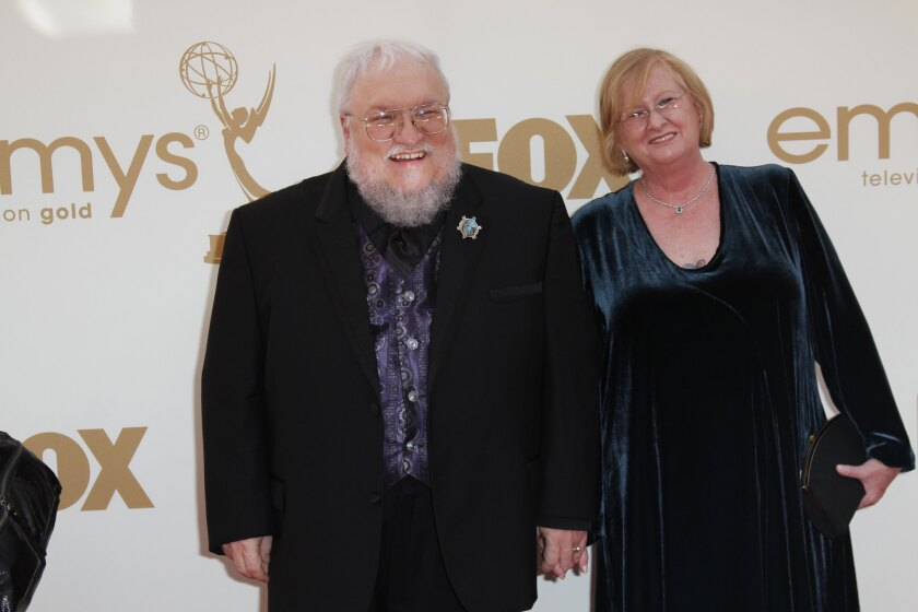George R.R. Martin says he just might need eight books to finish A Song of Ice and Fire.