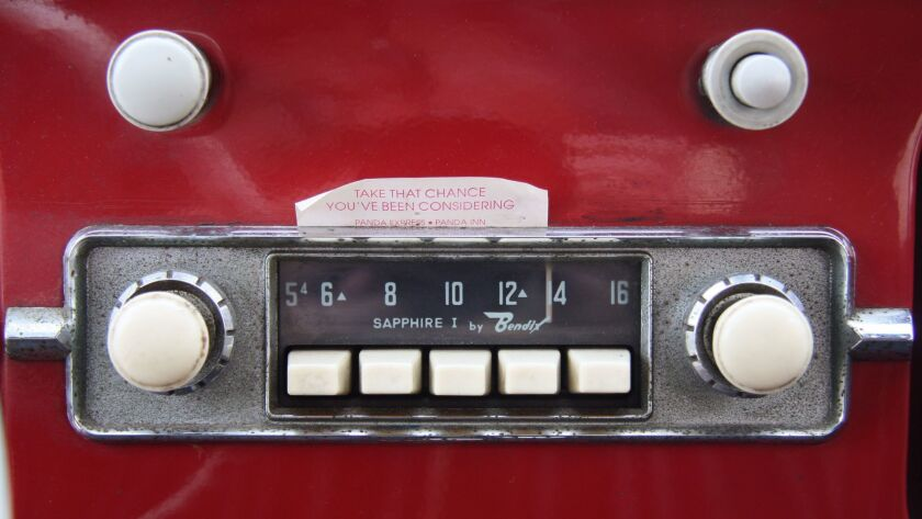 The original Bendix Sapphire I radio.