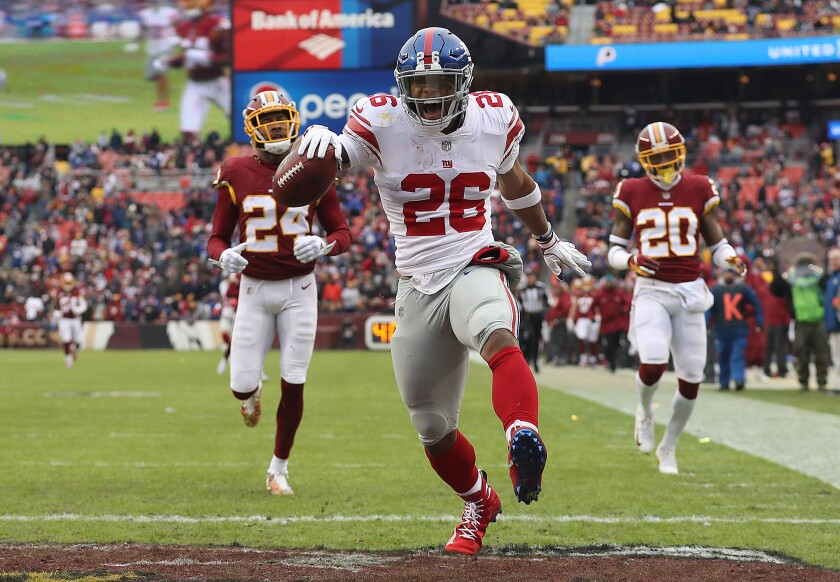 Fantasy Football 2019: New York Giants Preview - The San