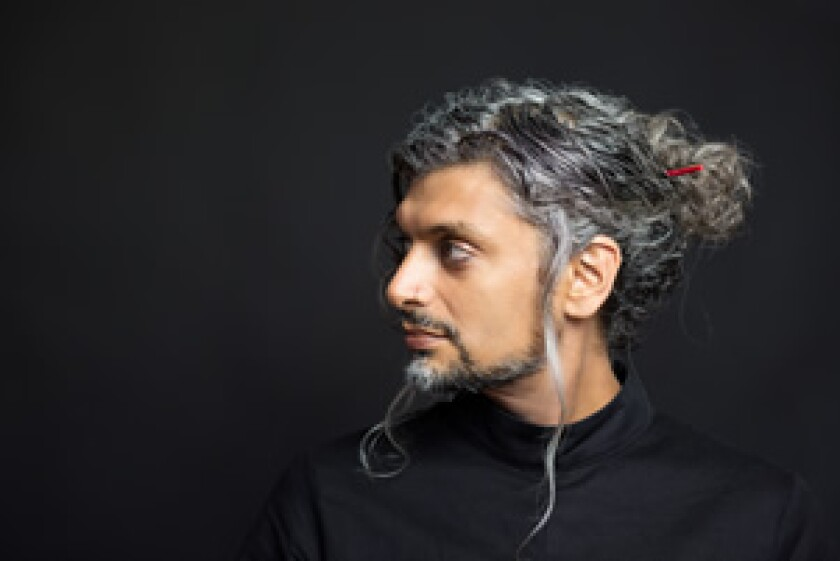 """UC San Diego professor and poet Kazim Ali is the author of """"The Voice of Sheila Chandra."""""""