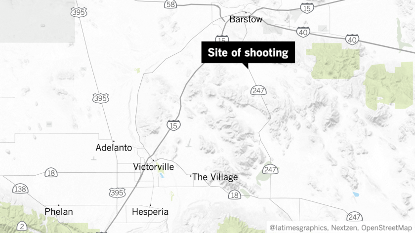 Officer Ismael Tamayo, a 13-year-veteran of the LAPD, was charged in connection with a weekend shooting at the Stoddard Wells Off-Highway Vehicle Area.