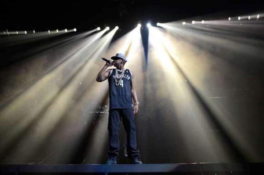Hip-hop superstar Jay-Z performs at Barclays Center of Brooklyn in September. The University of Arizona is offering the nation's first academic minor concentration on hip-hop culture.