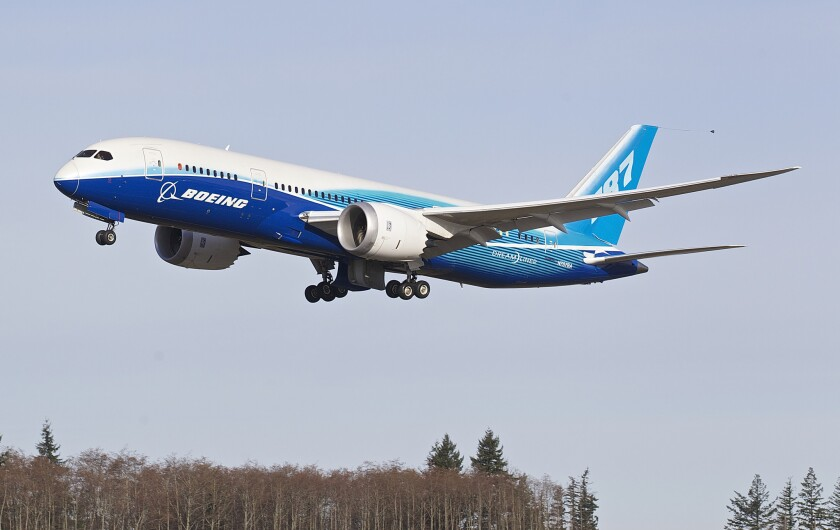 FAA regulators ground all Boeing 787 Dreamliners.