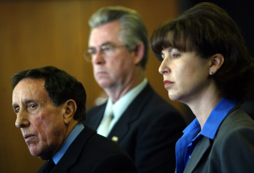 "State Sen. Connie Leyva, right, plans to introduce legislation that would eliminate the statute of limitations for rape and other sex crimes. ""Survivors of sexual offenses, including rape, deserve to know that California law stands on their side as they seek justice,"" she said in a statement."