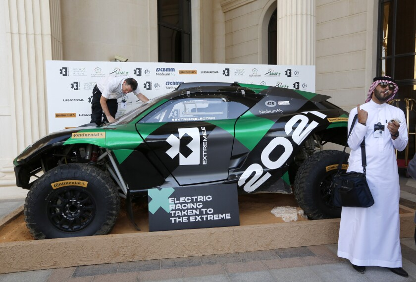 Extreme E American Teams Auto Racing