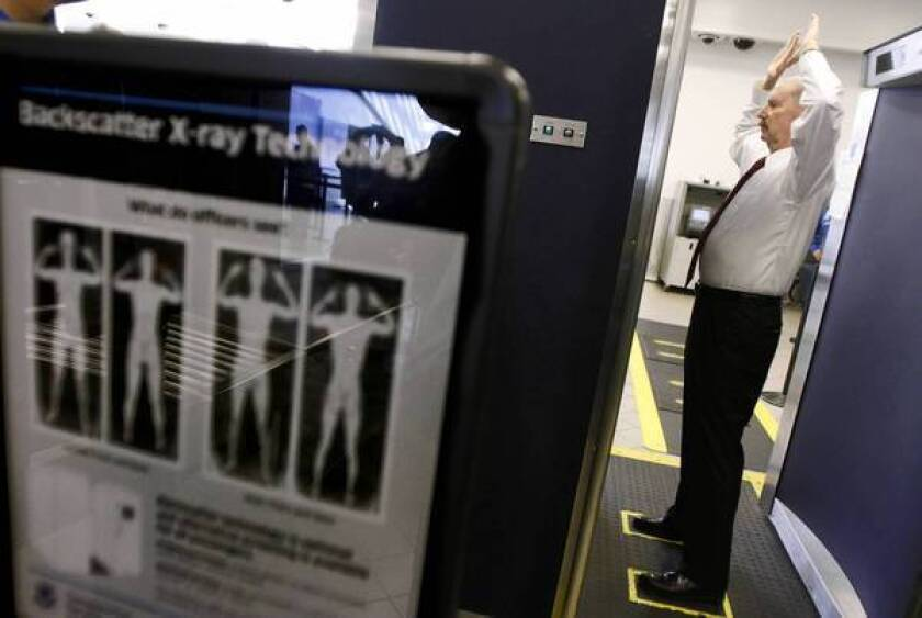 Controversial full-body scanners to be removed from airports
