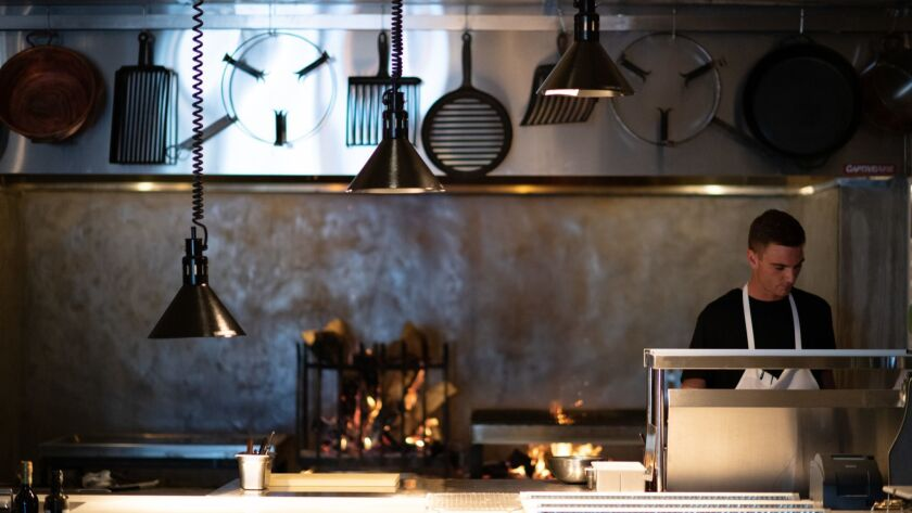 LOS ANGELES, CA-June 7, 2019: A look at the soon to be opened Antico restaurant, by chef Chad Colby