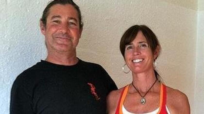 Russ Imlay and wife Kim, owners of San Diego Yoga Studio in Bay Park. (Courtesy of San Diego Yoga Studio)