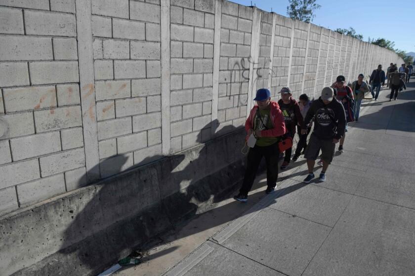 Un grupo de 200 personas salió de San Salvador, el 16 de enero anterior, en una nueva caravana con rumbo a Estados Unidos.